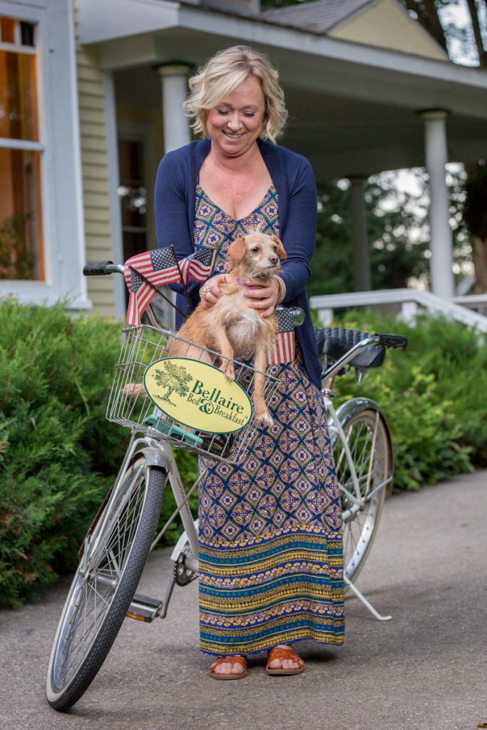 innkeepers and tandem bike